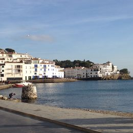 View from coast at Cadaques. , Ryan H - January 2014