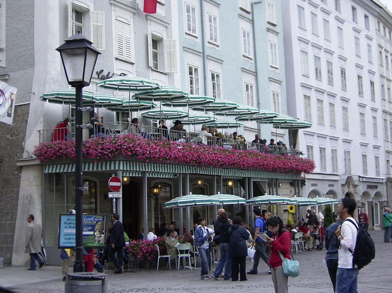 Cafe Tomaselli in the Alter Markt - Salzburg