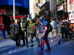 Photo of New York City New York CityPass Comics on Brodway
