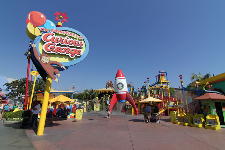 Curious George Playground - Los Angeles