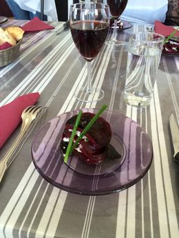 Beets with goat cheese , b_yancey - June 2015