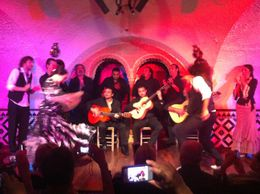Flamenco Night, Ryan & Asha - September 2012