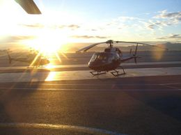 Photo of Las Vegas Grand Canyon All American Helicopter Tour Flying out at sunrise