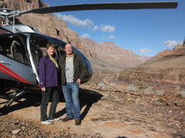 Photo of Las Vegas Grand Canyon West Rim Air and Ground Day Trip from Las Vegas with Optional Skywalk helicopter into the canyon
