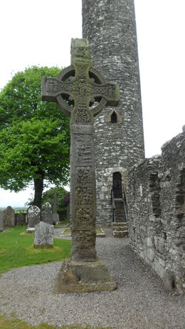 Photo of Dublin Celtic Heritage Day Trip from Dublin: Boyne Valley, Hill of Tara and Loughcrew Celtic Tombs High cross at Monasterboice