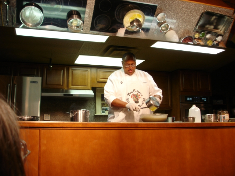 Kevin cooking, New Orleans Cooking Class - New Orleans