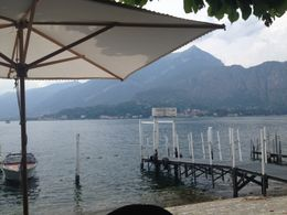 This was our view from lunch in Bellagio of Lake Como. , Staci C - July 2012