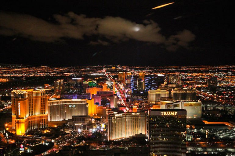 Las Vegas Night Strip Helicopter Tour - Las Vegas
