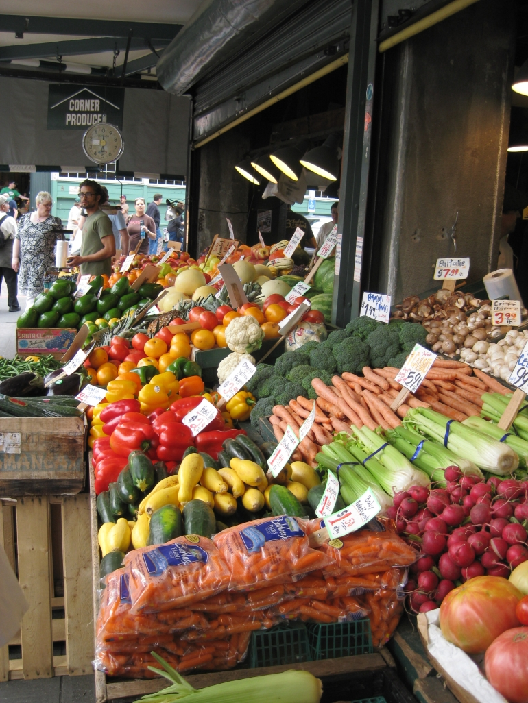 Lovely fruit at Pike Place Market - Seattle