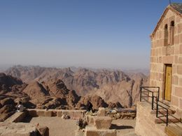 Photo of Sharm el Sheikh Private Tour: St Catherine's Monastery and Moses' Mountain at Sunrise Moses Mountain