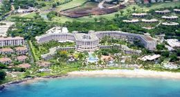Awesome view of our hotel from the helicopter. , kim - August 2015