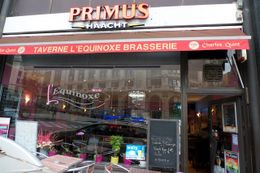 Photo of Brussels Brussels Night Walking Tour: Gourmet Belgian Food Primus Haacht