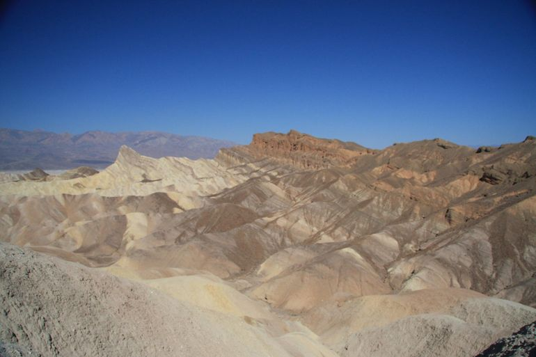 Rock formation in Death Valley - Las Vegas