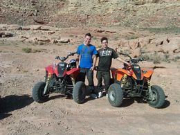 Photo of Las Vegas Hidden Valley and Primm ATV Tour Taking a breather from the biking