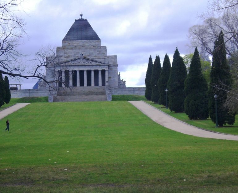 The War Memorial - Melbourne