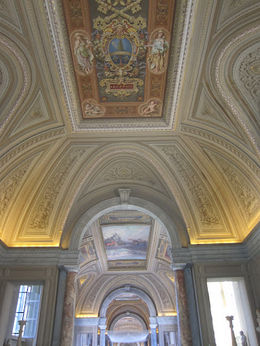 Look up everywhere you go in the Vatican!, Barrie S - June 2012