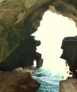 Do not pass going into the caves with the Pillars of Hercules it is magnificent to see , kands - November 2012