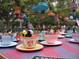 The spinning teacups, LUCY K - June 2011