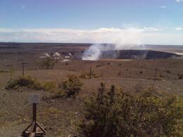 Photo of   Active volcano at Volcanoes National Park, Hilo