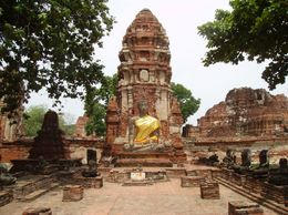 Photo of Bangkok Thailand's Ayutthaya Temples and River Cruise from Bangkok Ayutthaya Ruins