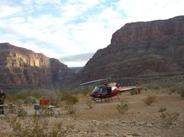 Photo of Las Vegas Grand Canyon All American Helicopter Tour Breakfast anyone?