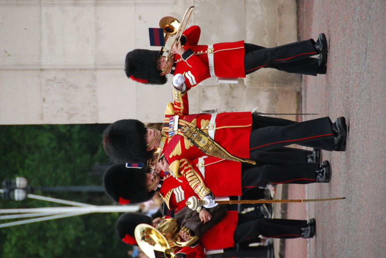 Buckingham Place Guard