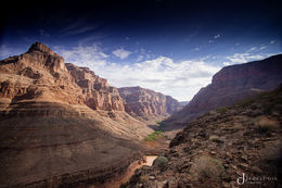 The view from the landing spot in the canyon , Jameel D - September 2013