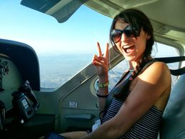 Photo of Las Vegas Deluxe Grand Canyon South Rim Airplane Tour co-piloting