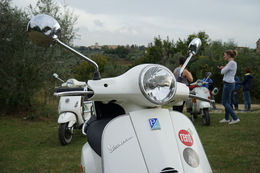 Photo of Florence Florence Vespa Tour: Tuscan Hills and Italian Cuisine Cool Vespa