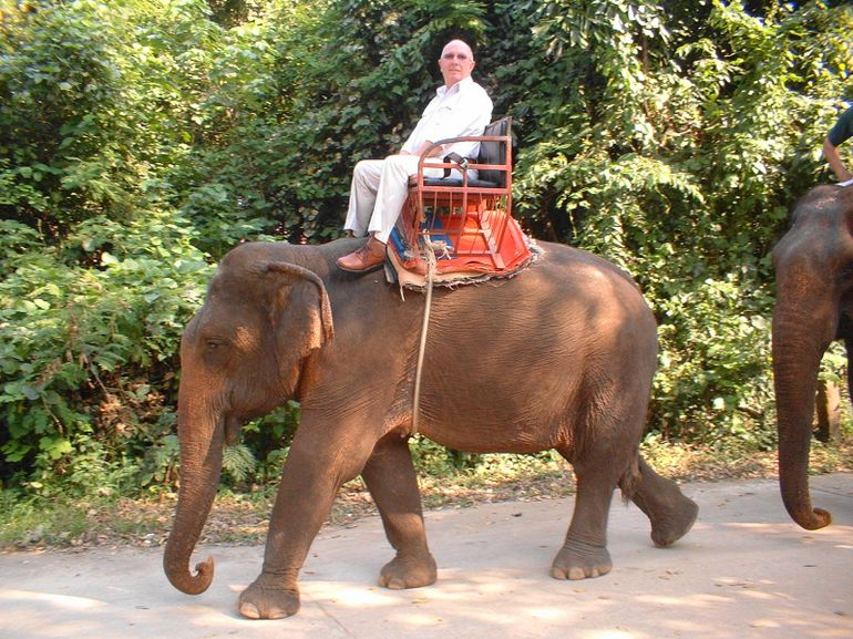 Elephant Ride - Bangkok