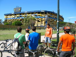Photo of Buenos Aires Buenos Aires Bike Tour: Recoleta and Palermo Districts Football Stadium Boca,Bueno Aires