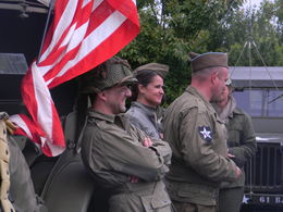Many actors took part in commemorating the Anniversary of DDay. , Deborah R - July 2013