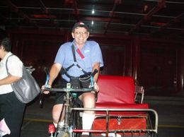 Photo of Singapore Singapore's Chinatown Trishaw Night Tour Lets have a go at this