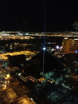 Photo of Las Vegas Las Vegas Strip Night Flight by Helicopter with Transport Luxor Hotel