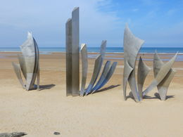 Photo of Paris Normandy D-Day Battlefields and Beaches Day Trip Memorial on the beach