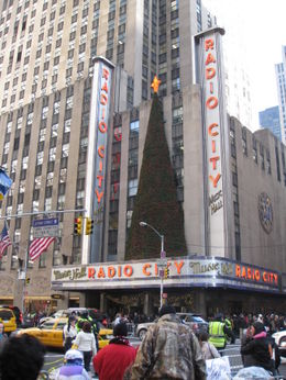 Photo of New York City Radio City Music Hall Christmas Spectacular NYC Dec 2010 copy 029