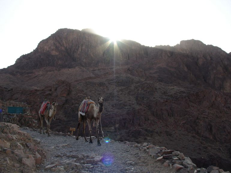 On the way up - Sharm el Sheikh