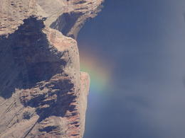 Photo of   Rainbow in the Grand Canyon