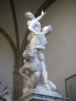 Photo of Florence Skip the Line: Florence Accademia and Uffizi Gallery Tour Rape of the Sabine Women by Giambologna