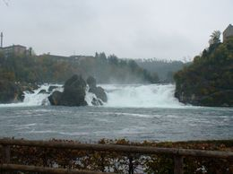 Photo of Zurich Rhine Falls Tour from Zurich Rhine Falls - from far