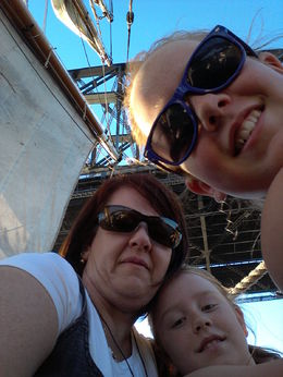 Photo of Sydney Sydney Harbour Tall Ship Twilight Dinner Cruise Sails up