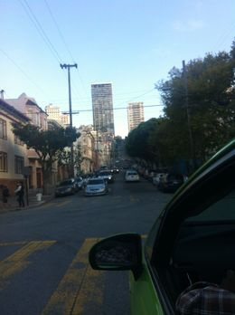 Driving through the city - August 2014