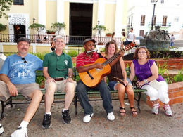 Photo of San Juan San Juan Shore Excursion: Private Tour with Viator Guide Carlos Medina Street Performer
