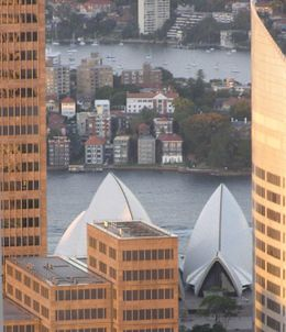 The Sydney Opera House from above., Undercover Américan - January 2010