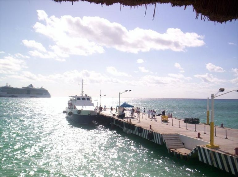 The Ferry to Cozumel -