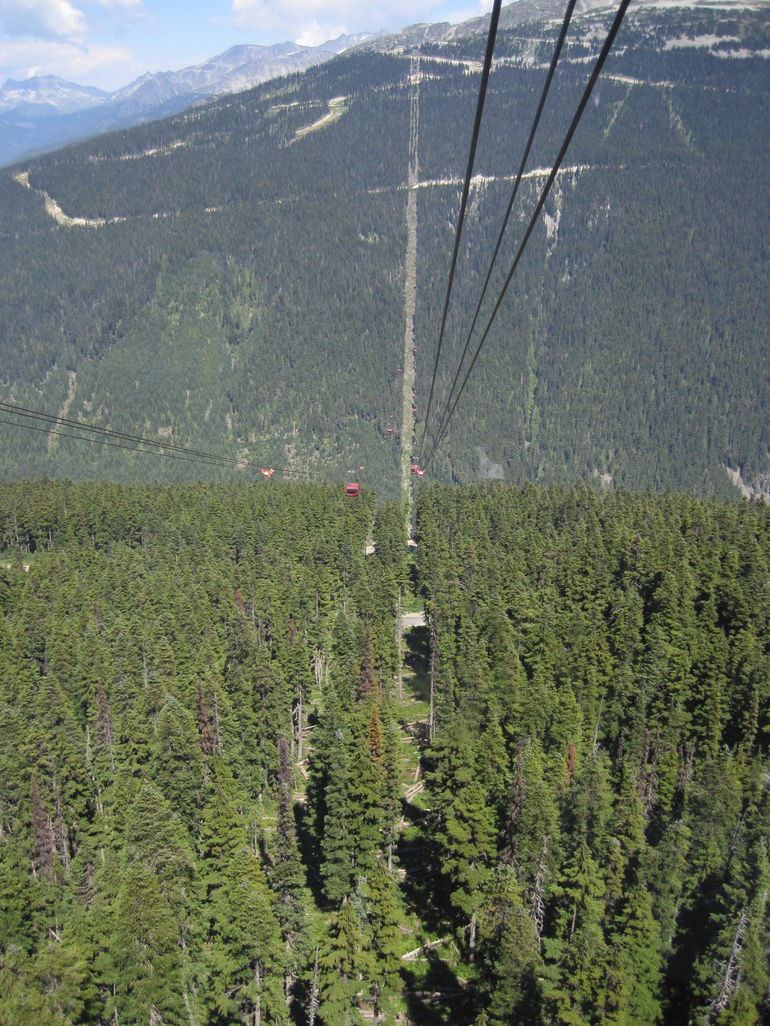 The Peak to Peak Gondola Trip at Whistler - Vancouver