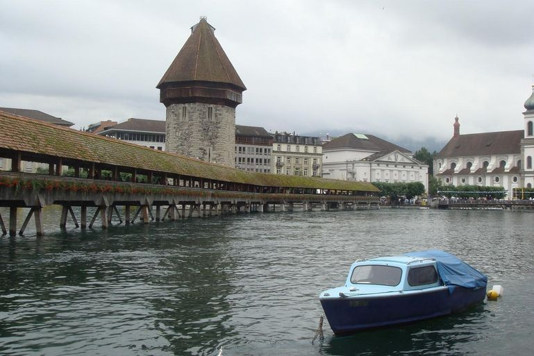 The Wooden Bridge - Zurich