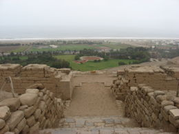 Photo of Lima Temple of Pachacamac Half-Day Tour from Lima View from on top of the Temple of the Sun