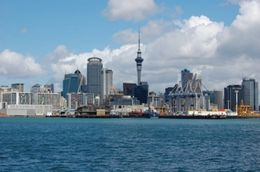 Photo of Auckland Auckland Harbour Dinner Cruise view of auckland