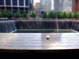 9/11 memorial , Jennifer R - July 2014